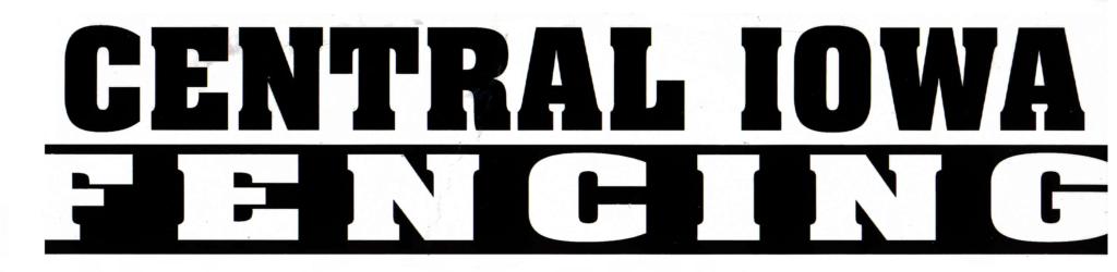 central iowa fencing logo