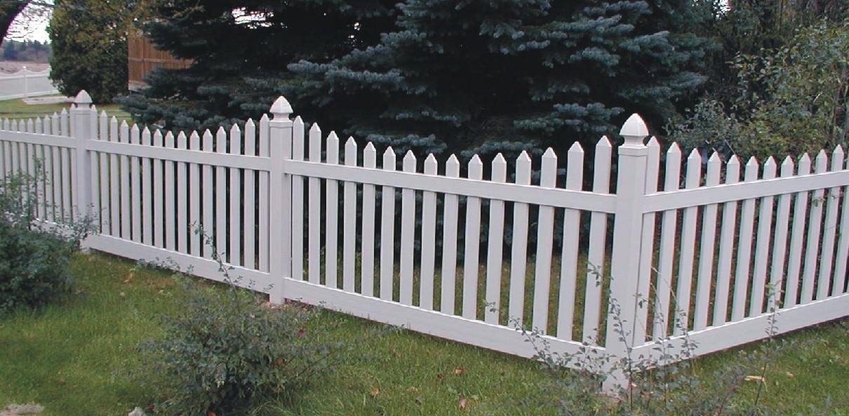 cascade vinyl fence