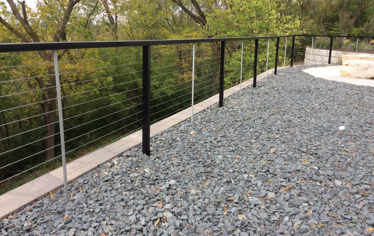 iron modern fence