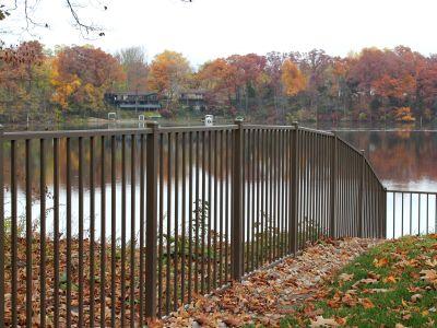 iowa aluminum fence